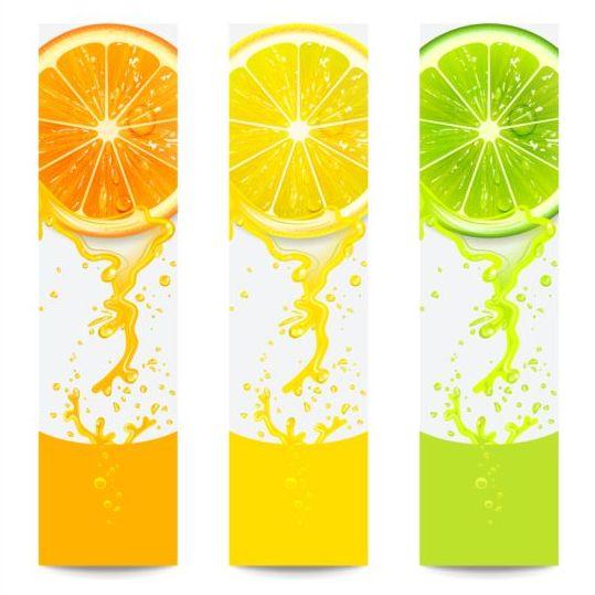 fruit fresh citrus banners