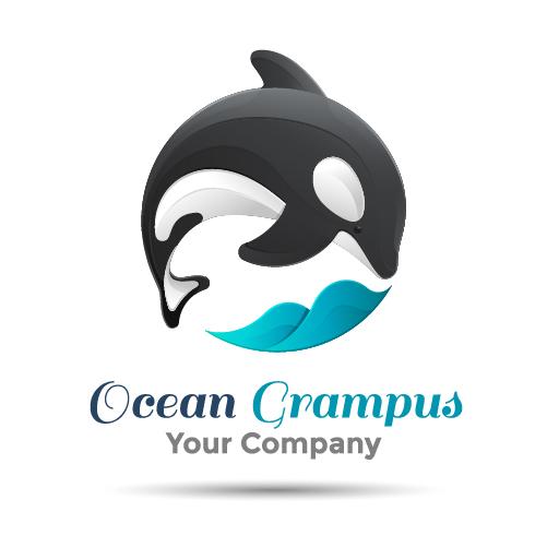 ocean logo grampus