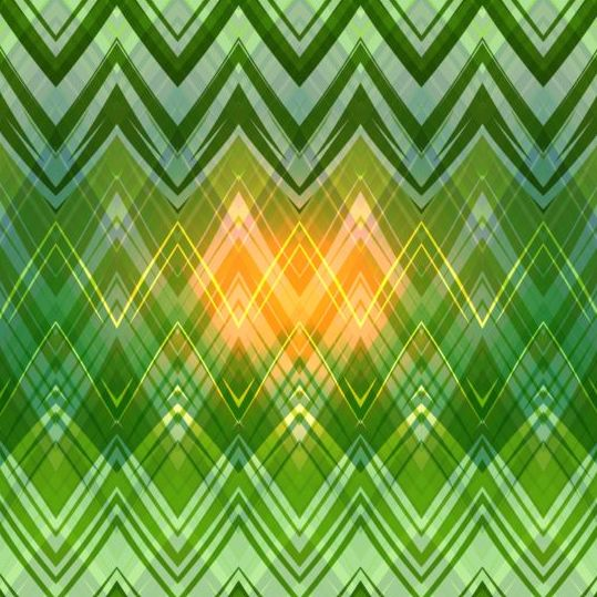 zigzag pattern colored