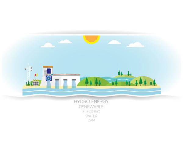 white hydro energy